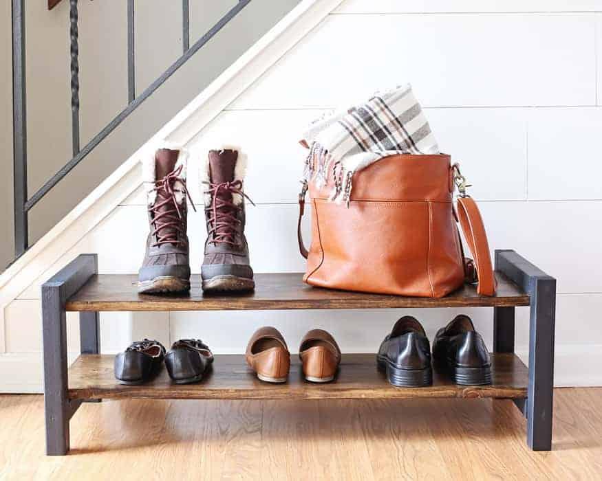 23 creative diy shoe rack ideas with