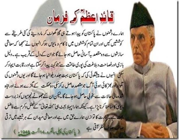 Urdu Essay on Quaid e Azam Muhammad Ali Jinnah