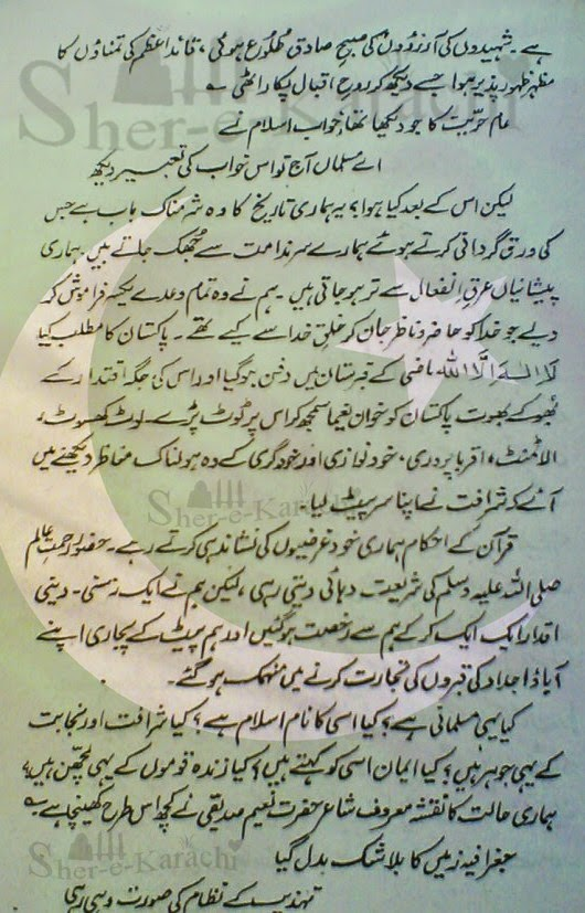 Pakistan day celebrations essay