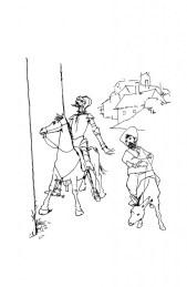 Don Quijote y Sancho Pansa