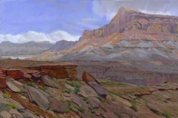 Hite by Western pastel landscape artist Don Rantz