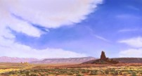 North Boundary Butte by Western pastel landscape artist Don Rantz