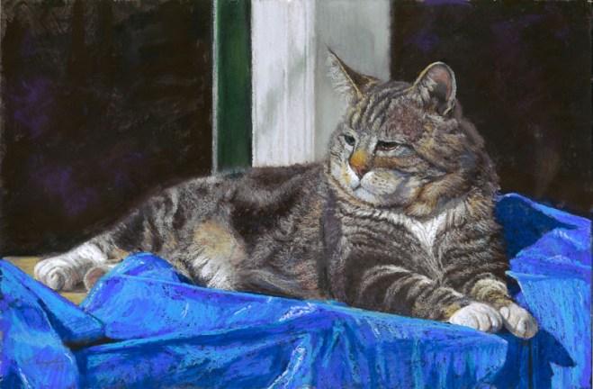 Petey by Western pastel landscape artist Don Rantz