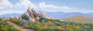 Sentinel by Western pastel landscape artist Don Rantz