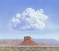Happy Cloud by Western pastel landscape artist Don Rantz