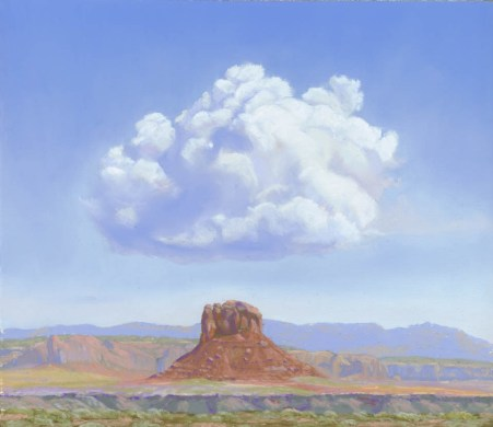 Happy Cloud by Western pastel landscape artist Don Rantz