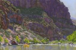 Curtain by Western pastel landscape artist Don Rantz