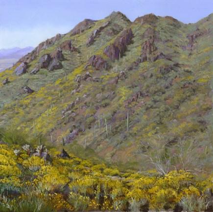 Gojohn Trail 2 by Western pastel landscape artist Don Rantz