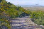 King Canyon Trail by Western pastel landscape artist Don Rantz