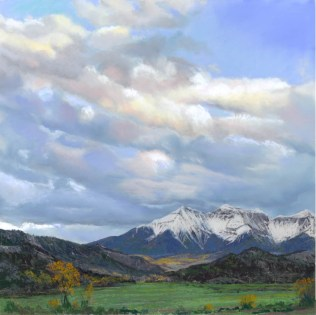 Colorado Autumn by Western pastel landscape artist Don Rantz