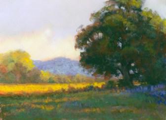 Tree by Western pastel landscape artist Don Rantz