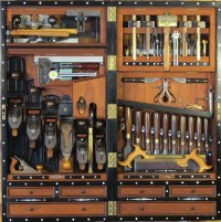 Woodworking - Tool Cabinet, Wall on Pinterest | Tool ...
