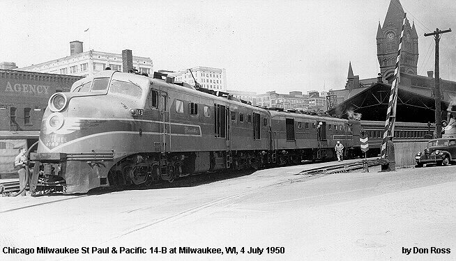 Chicago Milwaukee St Paul  Pacific Alco DL109 Diesel