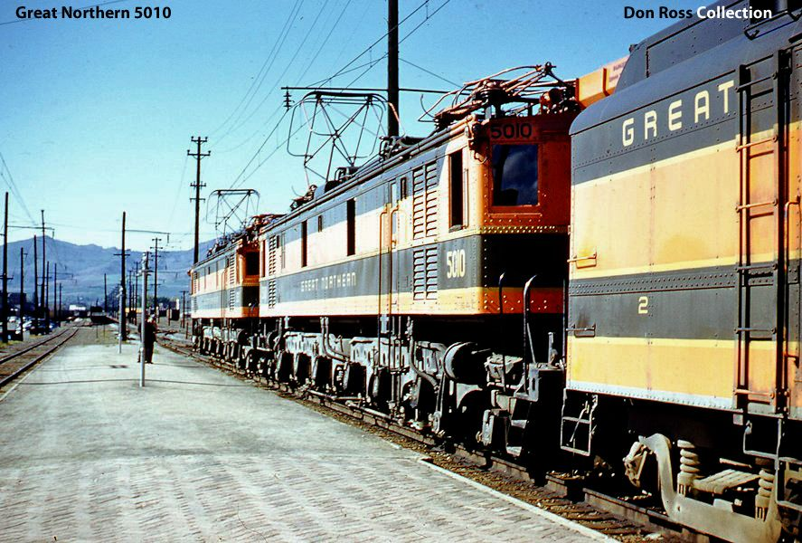 Great Northern RR Electric Locomotives
