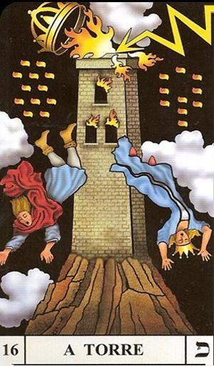 a torre carta da semana