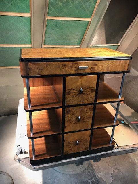 1940's Walnut Stand : Don's Furniture Restoration ...