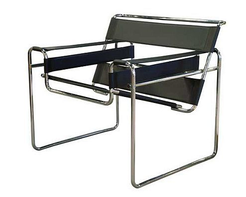 wassily chair by marcel breuer knollstudio. Black Bedroom Furniture Sets. Home Design Ideas