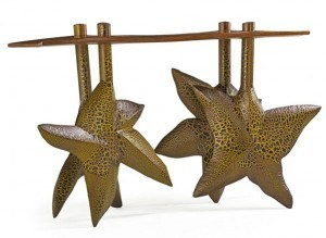 Wendell Castle Starfish Console Table (1995)