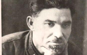 """И.Е.Игнатьев - ответственный редактор газеты   """"Красный хлебороб""""."""