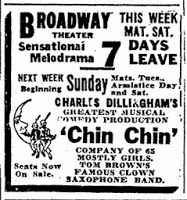 Donna in Denver, Nov 9-15, 1919 at the Broadway Theater