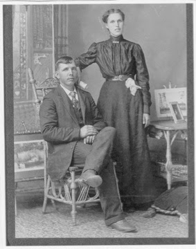 100 Years Ago – Arthur Durwood & Mary Elizabeth (Manning) BROWN