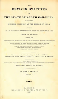 George Hobbs & North Carolina Laws