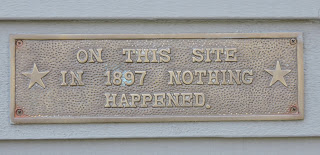 """""""In 1897 Nothing Happened…"""" 'cept a Shipwreck"""