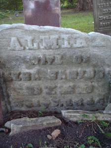 Marker: Almira (Chamberlin) Sanford