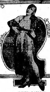 Newspaper photo of Donna (Montran) Darline.