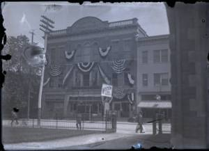 photo of Carlisle Opera House - Decorated for Jim Thorpe's homecoming in 1912