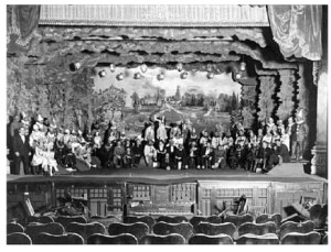 Photo of Cast of Chin Chin on stage - Carlisle Opera House