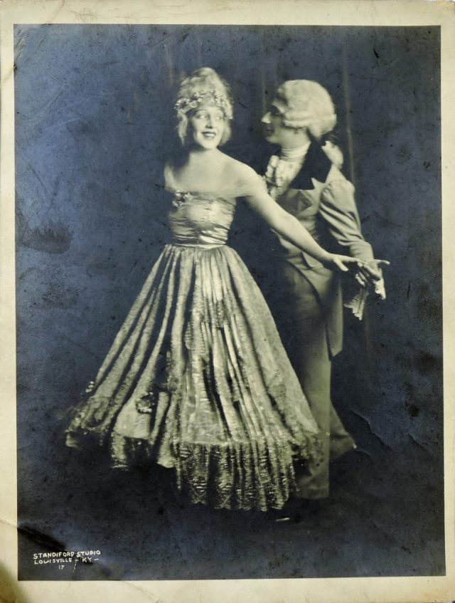 Photo of Donna Darling & Murray Earle c. 1924