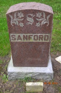 Photo of Sanford Marker - Benton Cemetery