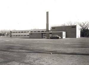 Photo of Elizabeth L. Hall Elementary c. 1960