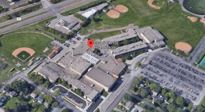 Image of Osseo High School Today (from air) source Google Maps.