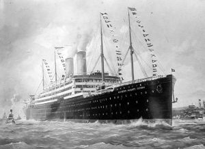 Image of the SS Kaiserin Auguste Victoria