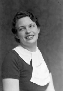Photo of Verna Farren circa 1934
