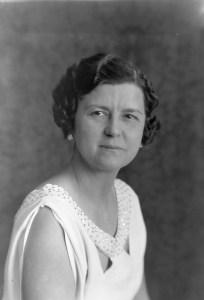 Photo of Ethel Florence (West) Farrar (1898-1982) circa 1937