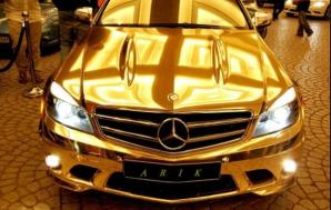 Shiekh Golden car