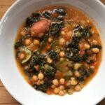 Chorizo, Chick Pea And Cavolo Nero Stew