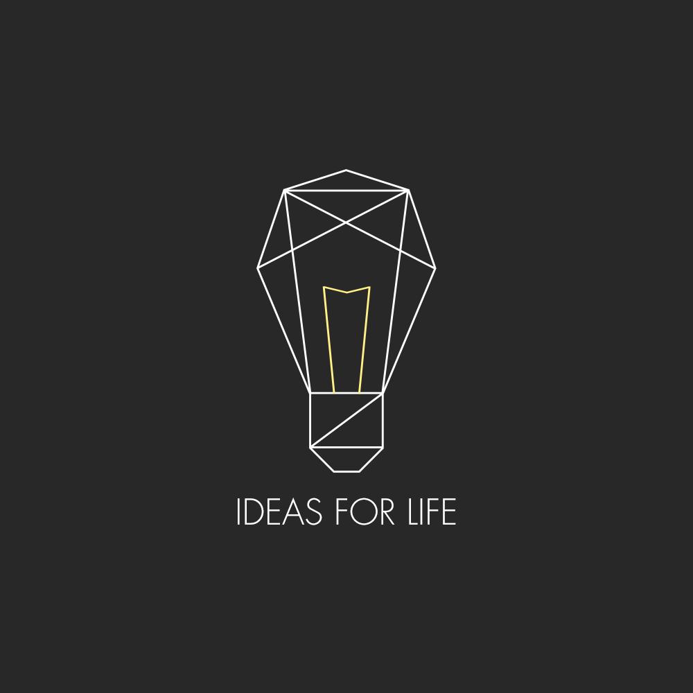 logo design i4l light don t burst