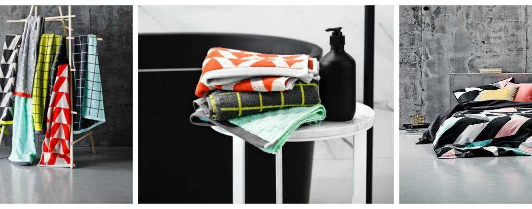 New Aura Textiles for Bed and Bath