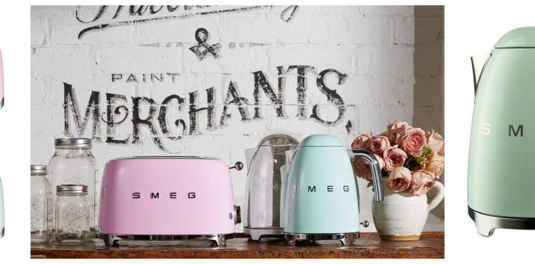 New Small Kitchen Appliances from SMEG
