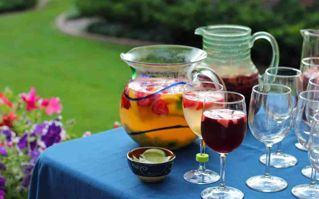 Ten Easy Garden Party Tips (for any host)