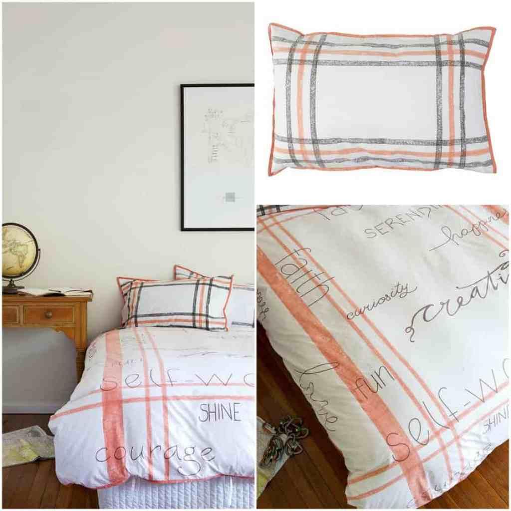 Tarsha Burn bed linen
