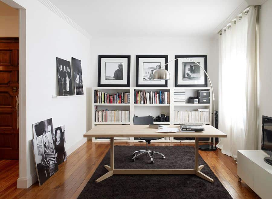 Master Monochromatic Home Office Design with Simple Hacks - Don\'t ...