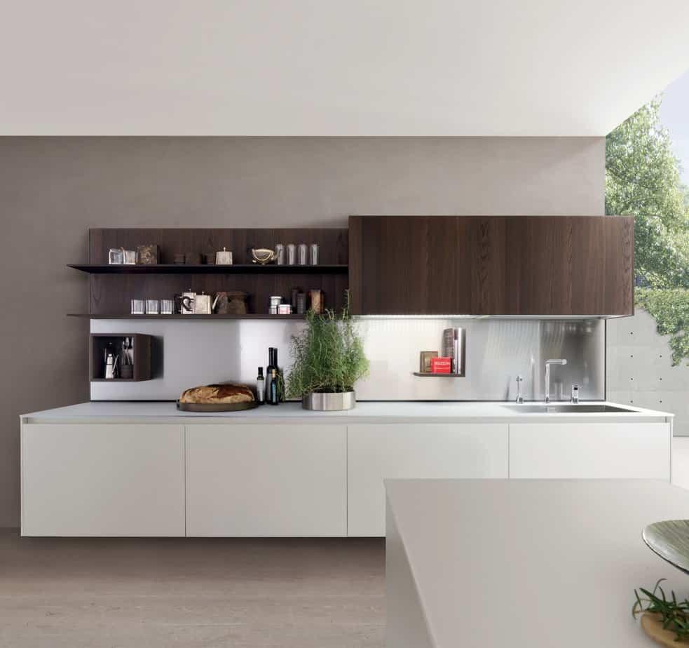 Kubic : The Modern Luminous New Kitchen From Gruppo Euromobil