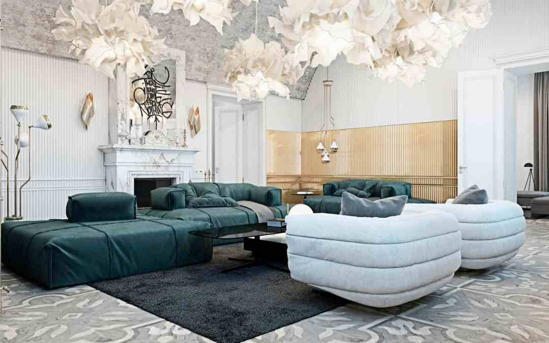 Luxury Italian Manor by Talented Ukrainian Design Duo