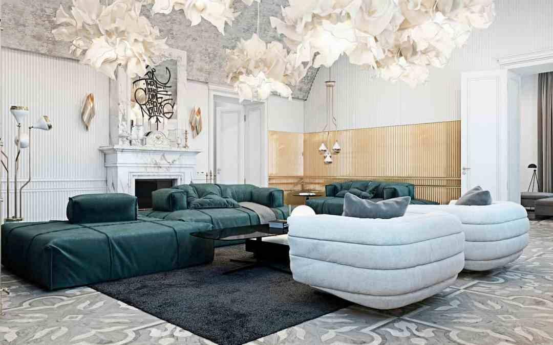 Luxury Italian Manor by Talented Ukrainian Design Duo