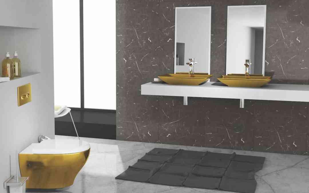 Gold Metallic Design for Opulent Excellence